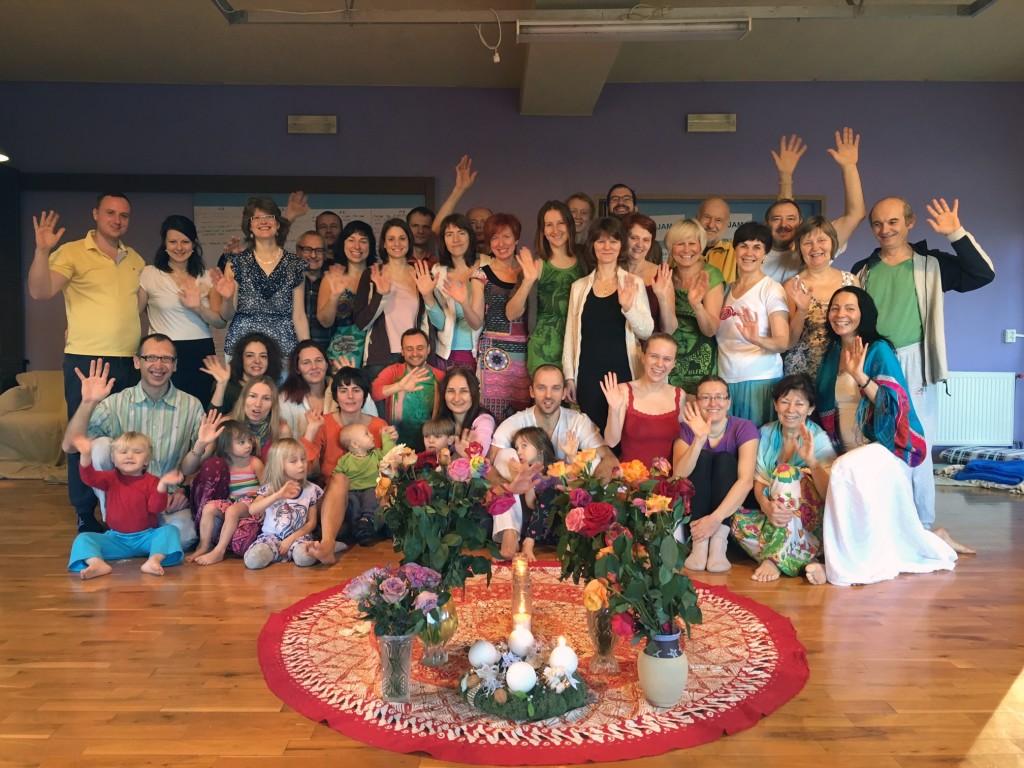 Pozdrav ze závěru meditací
