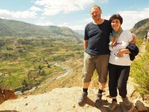 Pozdrav Růža a Míra z Peru 2015